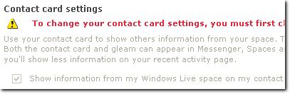 Set up your Windows Live Spaces blog Name