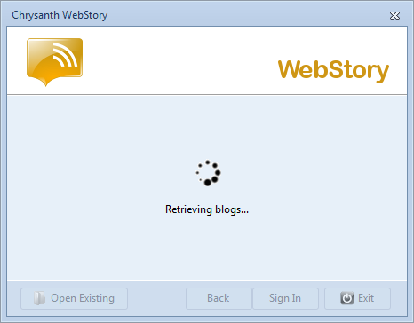 WebStory validates and retrieves your account information from Self.my